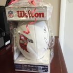 Tampa Bay Bucs Autographed Football